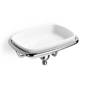 WS Bath Collections Venessia 52902 Porcelain Soap Dish Holde