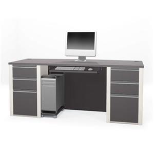Bestar 938 Connexion Executive Desk Set,93850-59