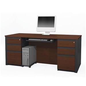 Bestar 998 Prestige + Executive Desk Set,99875-39