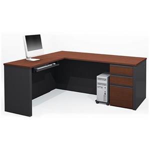 Bestar 998 Prestige + L-Shaped Workstation,99860-39