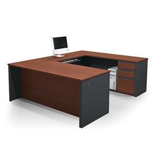 Bestar 998 Prestige + U-Shaped Workstation,99871-39