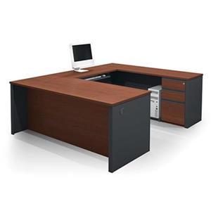 Bestar 998 Prestige + U-Shaped Workstation,99880-39