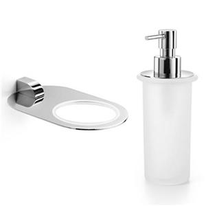 WS Bath Collections Muci Bathroom Soap Dispenser and Holder