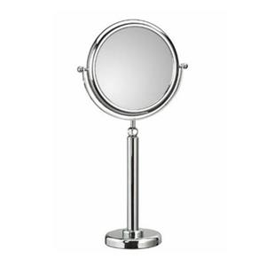WS Bath Collections Mirror Pure lll Free Standing Telescopic Magnifying/Make-Up Mirror