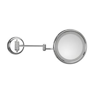 WS Bath Collections Mirror Pure lll Magnifying Make-Up Mirror with Incandescent Light
