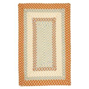 Colonial Mills Montego 8-ft x 8-ft Tangerine Indoor/Outdoor Area Rug