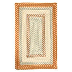 Colonial Mills Montego 8-ft x 11-ft Tangerine Indoor/Outdoor Area Rug