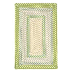 Colonial Mills Montego 7-ft x 9-ft Lime Twist Indoor/Outdoor Area Rug