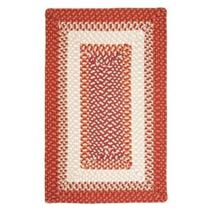 Colonial Mills Montego 4-ft x 6-ft Bonfire Indoor/Outdoor Area Rug