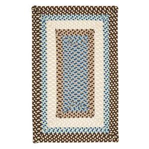 Colonial Mills Montego 2-ft x 6-ft Bright Brown Indoor/Outdoor Area Rug