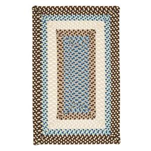 Colonial Mills Montego 4-ft x 6-ft Bright Brown Indoor/Outdoor Area Rug