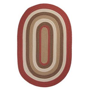 Colonial Mills Brooklyn 2-ft x 10-ft Terracotta Indoor/Outdoor Area Rug