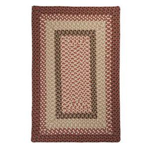 Colonial Mills Tiburon 7-ft x 9-ft Rusted Rose Indoor/Outdoor Area Rug