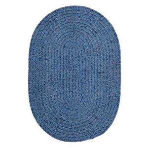 Colonial Mills Spring Meadow 2-ft x 8-ft Blue Area Rug Runner