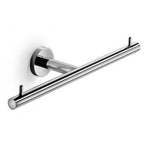 WS Bath Collections Duemila 5504 Polished Chrome Self-Adhesive Toilet Paper Holder