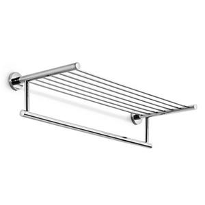 WS Bath Collections Spritz 24.40-in Polished Chrome Towel Rail
