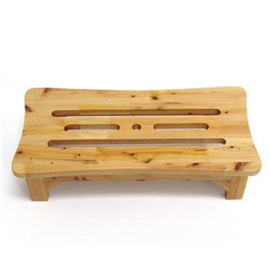 ALFI Brand 24-in Solid Wood Easy Access Stepping Stool