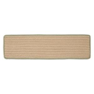 Colonial Mills boat House 8-in x 28-in Olive Stair Tread Mat - 13/pack