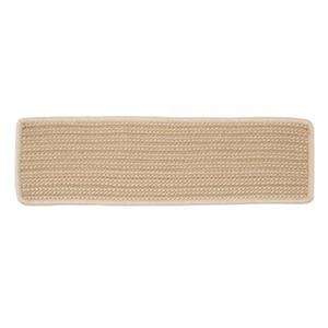 Colonial Mills Boat House 8-in x 28-in Natural Stair Tread Mat - 13/pack