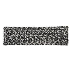 Colonial Mills Catalina 8-in x 28-in Blacktop Stair Tread Mat - 13/pack