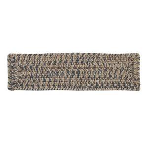 Colonial Mills Corsica 8-in x 28-in Lake Blue Stair Tread Mat - 13/pack