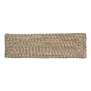 Colonial Mills Corsica 8-in x 28-in Moss Green Stair Tread Mat - 13/pack