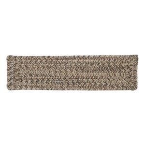 Colonial Mills Corsica 8-in x 28-in Storm Gray Stair Tread Mat - 13/pack