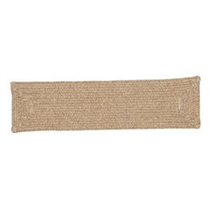 Colonial Mills Shear Natural 8-in x 28-in Muslin Stair Tread Mat - 13/pack