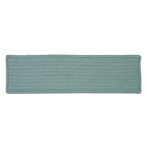 Colonial Mills Simply Home Solid 8-in x 28-in Federal Blue Stair Tread Mat - 13/pack