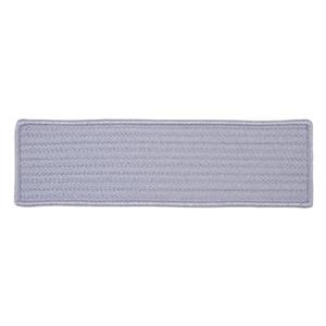 Colonial Mills Simply Home Solid 8-in x 28-in Amethyst Stair Tread Mat - 13/pack