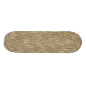 Colonial Mills Softex Check 8-in x 28-in Celery Check Stair Tread Mat - 13/pack