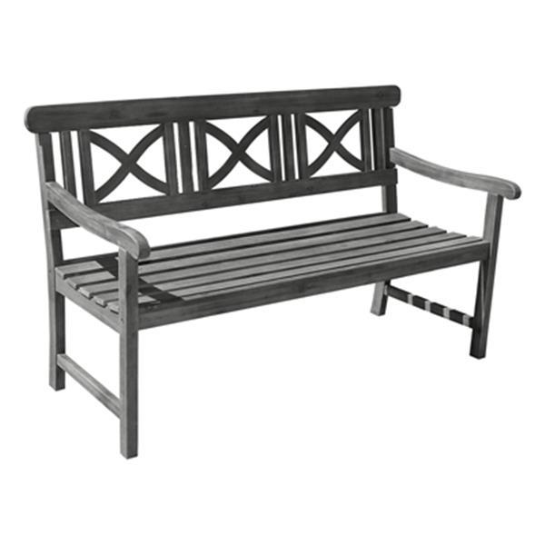 Fantastic Vifah Renaissance Hardwood 5 Ft Outdoor Garden Bench Ncnpc Chair Design For Home Ncnpcorg