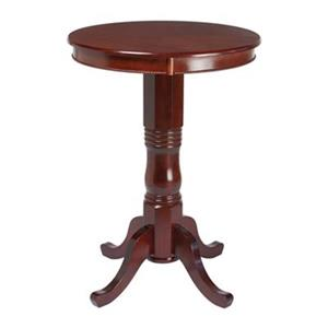 RAM Game Room Products 30-in Round Wood Pub Table