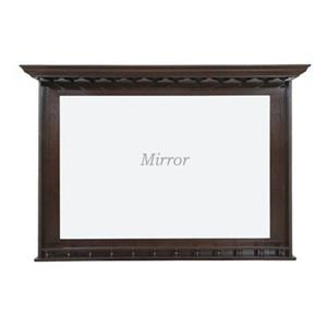 RAM Game Room Products Black BMR Bar Mirror