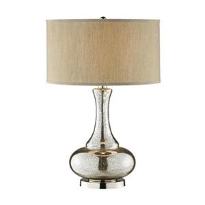 Stein World Lincore Silver/Gold Glass Gourd Table Lamp