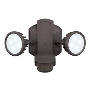 Cascadia Lambada 2-Head LED Motion Sensor Dusk to Dawn Security Light