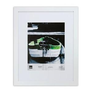 Nexxt Designs Langford 11-in x 14-in White Wood Picture Frame