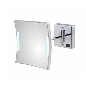 WS Bath Collections Mirror Pure lll LED Lighted 3x Magnifying Make-Up Mirror