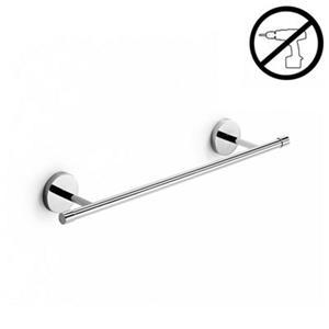 WS Bath Collections Duemila Glue 23.60-in Polished Chrome Self-Adhesive Towel Rail