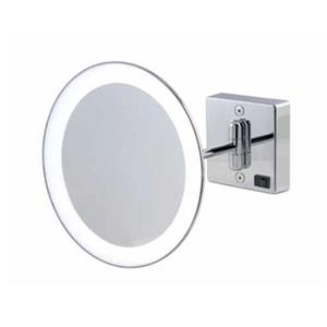 WS Bath Collections Discolo LED Mirror Pure lll 3x Magnifying Make-Up Mirror