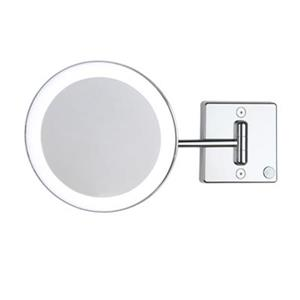 WS Bath Collections Discolo Mirror Pure lll LED Lightened 3x Make-Up Mirror