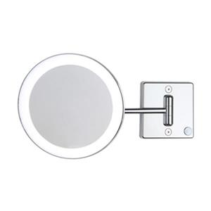 WS Bath Collections Mirror Pure lll Lighted 3x Magnifying Make-Up Mirror