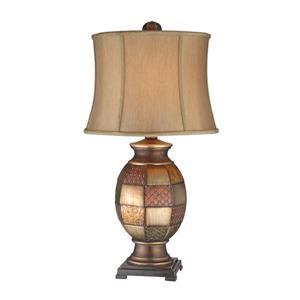 Stein World Deliah Antique Metallic Patchwork Lamp
