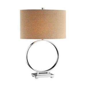 Stein World O Chrome Table Lamp