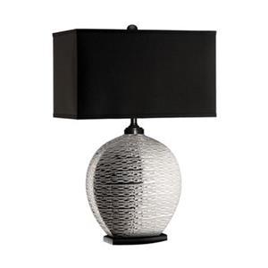 Stein World Pari Silver Textured Table Lamp