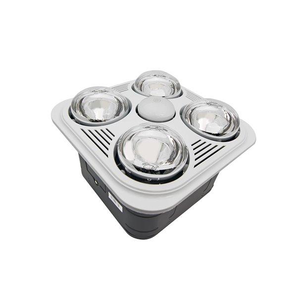 Excellent Aero Pure 4 Light Combination Heater Bathroom Fan Home Interior And Landscaping Ologienasavecom