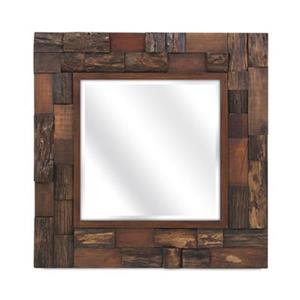 IMAX Worldwide Lloyd Brown Wood Slat Mirror