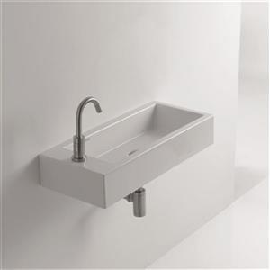 WS06101F Whitestone Wall Mounted / Vessel Bathroom Sink