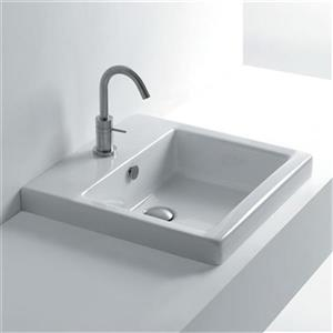 Whitestone Recessed Bathroom Sink