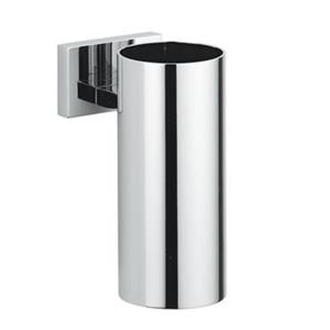 WS Bath Collections Carmel Chrome Finish Solid Brass Toothbrush Holder